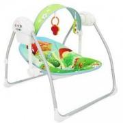 Електрическа бебешка люлка - Party Green, Cangaroo, налични 3 цвята, 356057