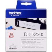 Brother DK-22205 Etiquetas Cinta continua, 62 mm x 30,48 m