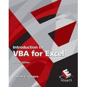 Introduction à VBA pour Excel par Chapra & Steven C.