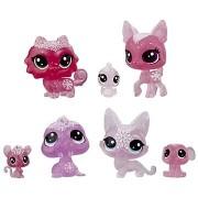 Littlest Pet Shop Állatkák a Jégvarázsból 7db - rózsaszín