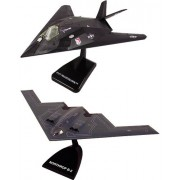 SMITHSONIAN InAir E-Z Build, 2-piece Set, B-2 Stealth Bomber & F-117 Nighthawk