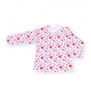 Bluzita bebe cu buline rosii