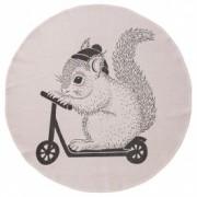 "Covoras "" Squirrel "", Ø100 cm"