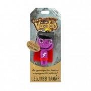 Voodoo talizmán textil 8cm A világ legjobb Tanára