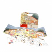 Set magnetic Acasa - Egmont Toys