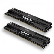 Memorie Patriot Viper 3 Black Mamba 8GB (2x4GB) DDR3, 1600MHz, PC3-12800, CL9, XMP, Dual Channel Kit, PV38G160C9K