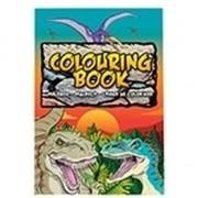 Nature Plush Planet Dino/dinosaurussen thema A4 kleurboek/tekenboek 24 paginas