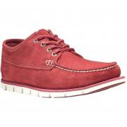 Zapatos Para Hombre Timberland Tideland Ranger Moc -Rojo