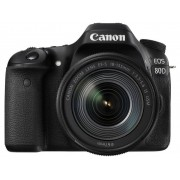 Canon EOS 80D Digitale spiegelreflexcamera Incl. EF-S 18-135 mm IS USM 24.2 Mpix Zwart WiFi, Draai- en zwenkbare display