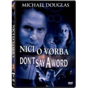 Dont say a word DVD 2001