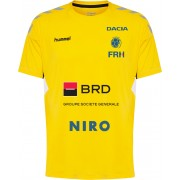 Tricou oficial de joc nationala masculina de handbal galben