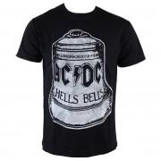 tricou stil metal bărbați AC-DC - Hells Bells - ROCK OFF - ACDCTS20MB