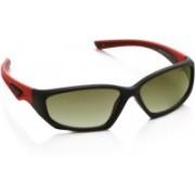 Vintage Rectangular Sunglasses(Green)