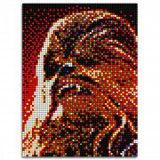 Pixel Art Star Wars Chewbacca Quercetti, 5600 piese, 7 ani+