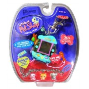Hasbro Year 2006 Littlest Pet Shop Digital Pets Series Virtual Game - Green IGUANA Digital Game with Charms to Interact with Your Pet Food Tray to Feed Your Pet Brush Clip for On-the-Go Fun and 30+ Games and Activities Plus Bonus Exclusive Bracelet with 3