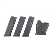 Glock Model 17/34 Magazines - 17/34 9mm 17-Rd Mag 3-Pack W/Loader