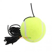 Tradico® High Quality Rubber Woolen Tennis Balls Trainer Tennis Ball with String #Orp