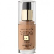Max Factor Facefinity base 3 em 1 tom 77 Soft Honey 30 ml