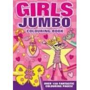Carte de colorat Jumbo - fetita