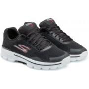 Skechers GO Walk3- Reaction Running Shoes For Men(Black)