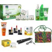 Astaberry Neem Aloe Anti Acne - Skin Care Gift Set (Facial Toner Aleo Vera Gel Sunscreen SPF 30)
