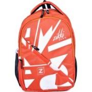 Zikki 27L Laptop Bag for Women and Men | Trending school Backpacks bag for Girls Boys kids Stylish (Black) 27 L Laptop Backpack(Orange)