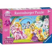 Puzzle Disney Princess Palace Pets, 35 piese