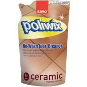 Rezerva detergent suprafete ceramice, 1L, SANO Poliwix Ceramic