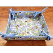 Panera de Mesa de Algodón - Modelo CLOS DES OLIVIERS - Azul
