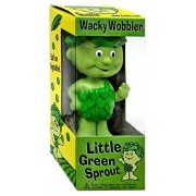 Wacky wobbler limited edition little green sprouts 8 inch figure