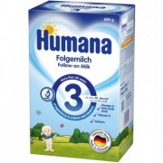 Set Lapte praf bebelusi de la 10 luni Humana 3 600 g