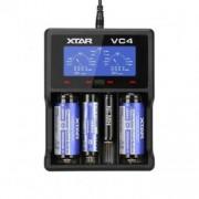 Incarcator universal XTAR VC4, maxim 4 acumulatori