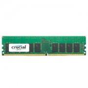 RAM памет CRUCIAL 16GB DDR4-2666 RDIMM, CL=19, Dual Ranked, x8 based, Registered, ECC, DDR4-2666, 1.2V, 2048Meg x 72, CT16G4RFD8266