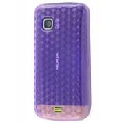 Nokia C5-03 TPU Gel Case - Nokia Soft Cover (Diamond Purple)