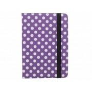 Universele polka dot design tablethoes met standaard voor 8 inch tablets