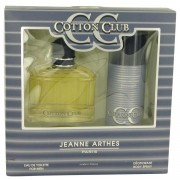 Jeanne Arthes Cotton Club Eau De Toilette Spray + Deodorant Spray Gift Set Men's Fragrances 502342