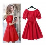 Vestido E-Thinker Rojo