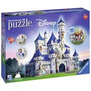 Puzzle 3D Castelul Disney, 216 piese