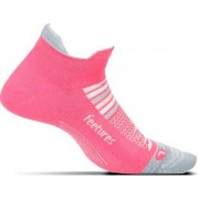 Feetures - Elite Ultra Light No Show Tab - Hardloopsokken - Sportsokken - Roze - L
