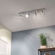 Asto Ceiling Spotlight Four Bulbs Decorative Ring