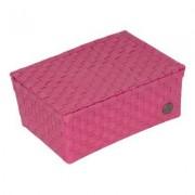 Handed By Udine Korb mit Deckel pink