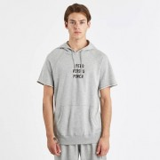 Reigning Champ Speed Vs Power Cut Off Hoodie Lweight Terry Grey/Black