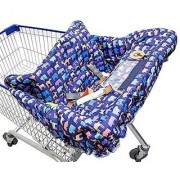 Busy Bambino Shopping Cart Cover - Most stylish cover for your Baby. Suitable for Grocery Carts & Restaurant High Chairs
