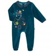 Petit Béguin Pyjama bébé velours Little Sweet - Taille - 24 mois