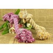 Tuggleksak till hunden -trossen - Purple rope