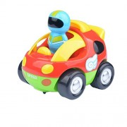 Egoelife Cartoon Race Radio RC Toys Car with Remote Control and Musical Light for Toddlers