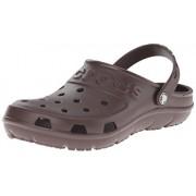 Crocs Unisex Hilo Mahogany Rubber Clogs and Mules - M9W11