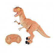 Dino Planet Remote Control Tyrannosaurus Rex R/C Walking T-Rex Dinosaur Toy with Shaking Head