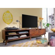 Bighome.cz Bighome - SKANE TV stolek I. 220x48 cm, palisandr, hnědá