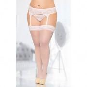 Stockings 5541 white - 5